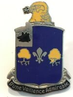 WWII 39th Infantry Regiment DI Pin Dune Vaillance Admirable Military Vintage