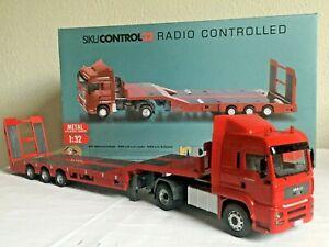 SIKU CONTROL 6721 RC MAN mit Tieflader und Fernsteuerung RTR 1:32 Komplettset