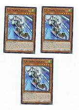 X3 YUGIOH F.A. SONIC MEISTER COTD-EN086 COMMON IST IN HAND READY TO SHIP