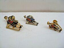Jacob Ruppert Knickerbocker Pins (2) And 1 Earing