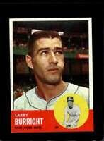 1963 TOPPS #174 LARRY BURRIGHT EXMT METS  *XR19555