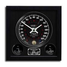 JAGUAR E TYPE SIII V12 Classic Speedometer wall clock 24x24cm Handmade