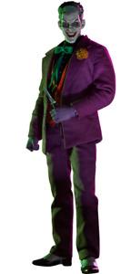 Dc Comics Batman Nemesis The Joker Sixth Scale action figure Sideshow Marron Box