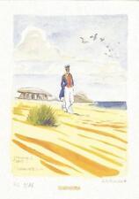 Jacques Ferrandez – Hommage à Corto Maltese d' Hugo Pratt – ex libris signé