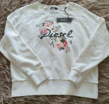 Diesel Floral Spellout Sweater Size Medium BNWT
