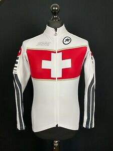 Assos Suisse Cycling Federation Jersey Womens M Full Zip Long Sleeved Thermal