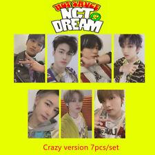 Kpop NCT Dream Hot Sauce Album Photocard Self Made Autograph Photo Cards