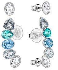 Effusion Earlobe And Stud Pierced Earrings Set 2016 Swarovski Jewelry 5195436