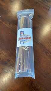 "12"" inch Bully Sticks Natural North American Beef - Dog Treats Made in USA"