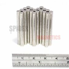 500 Magnets 4x1.5 mm Neodymium Disc small round craft magnet 4mm dia x 1.5mm