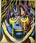 David Lee Roth Van Halen Eat them and smile pop art painting wall décor