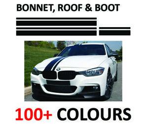 BMW 3 SERIES RACING STRIPES M PERFORMANCE VINYL STICKERS F10 F30 F31 F32 F33