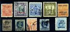 INDIA Princely States 10 Different From 10 Different Con. & Fed. States Pre 1950