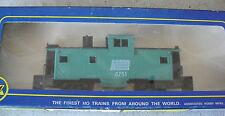 Vintage Ho Scale Ahm Penn Central Extended Vision Caboose Car in Box 5485