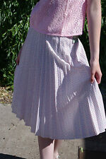 NOS Damen Rock Faltenrock bunt gepunktet 70er skirt True VINTAGE 70s woman dots