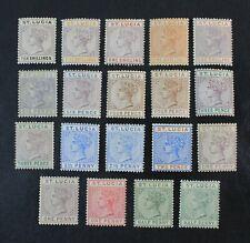 Ckstamps: Gb Stamps Collection St. Lucia Scott#27a/39 Mint H Og