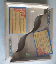 """2 Two-Way Decorative Shelf Brackets CB 909 11""""x2.25""""x9"""" Wood Shelf Bracket"""