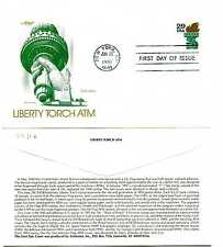 2531A Statue of Liberty Torch ATM Artmaster FDC