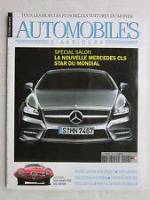 AUTOMOBILES CLASSIQUES  N°199 / MER CLS/ Dossier ALFA ROMEO/ DB4 ZAGATO/ 904 GTS