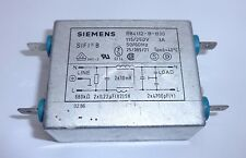 Siemens (B84112-B-B30) 115/250 V, 3 A, Power Line Filter
