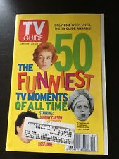 Tv Guide 50 Funniest Tv Moments Of All Time