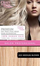 Weft Medium Length Hair Extensions