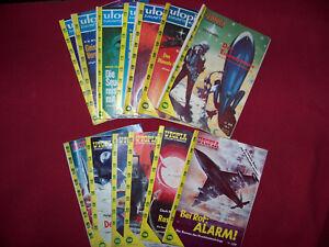 Utopia Zukunftsroman   14 Hefte aus 300er Serie