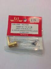 K&S Aluminum Needle Control Lever OS50/61/70/91 KSJ1228