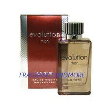 LA RIVE EVOLUTION MAN COLOGNE FOR MEN 3.0 OZ / 90 ML EAU DE TOILETTE SPRAY NIB