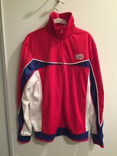 NBA Los Angeles LA Clippers Mens On Court Warm Up Jacket Track Sz Large