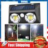 Outdoor Wall Lights 20W Motion Sensor Solar High Efficiency Lens IP65 Waterproof