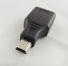 1pcs F/M USB 2.0 A Female To Mini USB B 5 Pin Male Plug OTG Adapter Converter