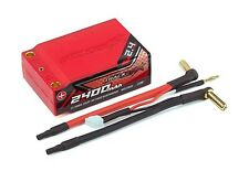 Trackstar Hardcase Super Shorty (Low C of G) 2400mAh 7.4V 70C Lipo Car Pack 2S2P