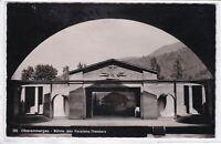 Ansichtskarte Oberammergau - Bühne des Passions-Theaters - schwarz/weiß