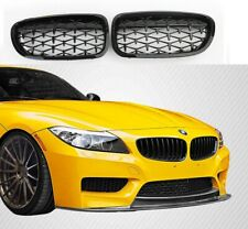 BMW E89 Z4 gloss black diamond style front kidney grilles grille grills UK