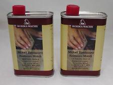 Restaurierungsöl Möbel Restauro Farbe dunkel von Borma - 1 Liter