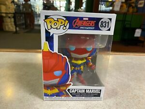 Funko POP! Movies Marvel Avengers Mech Series CAPTAIN MARVEL #831