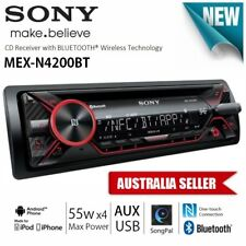 NEW SONY MEX-N4200BT 1-DIN iPod iPhone USB AUX BLUETOOTH RDS CAR AUDIO PLAYER