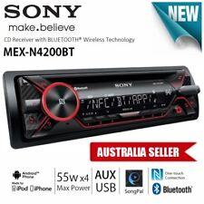 SONY MEX-N4200BT 1-DIN iPod iPhone USB AUX BLUETOOTH RDS CAR AUDIO PLAYER