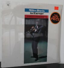 "Miles Davis LP ""In Europe"" ~ Columbia PC 8983 ~ SEALED"