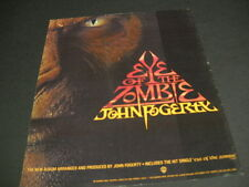 JOHN FOGERTY Eye Of The Zombie original 1986 PROMO DISPLAY AD
