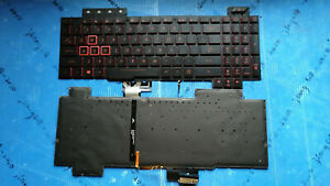 New Asus TUF Gaming FX505 FX505GD FX505GE FX505GM FX86 Keyboard US Backlit