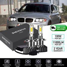 FOR BMW E90 E60 F10 F30 E87 X5 HID XENON LIGHT CONVERSION KIT H7 6000K
