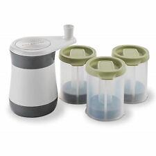 Cole & Mason Frozen Herb Mill Gift Set Fresh Herbs Freezer Storage Gift Idea