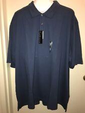 419b3f6d Van Heusen Men's Big & Tall Classic-fit Polo Short Sleeves Blue Insignia 4xl