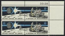#1435b 8c U.S. In Space, Plate Block [33138 UR] Mint **ANY 4=FREE SHIPPING**