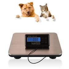660 Lbs Digital Floor Bench Platform Postal Scale Lcd Display Pet 300kg Weigh