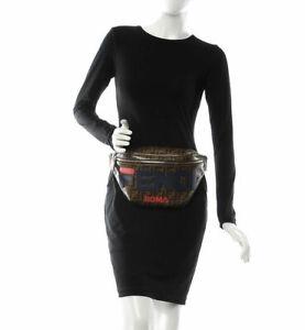 FENDI x FILA ROMA Logo Waist Pouch Belt  Bag