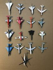 Lot Of 17 1970's Matchbox Zee Dyna Flites Helicopter Jets 747 F18 Dc-10