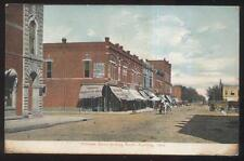 1907 Postcard Paulding Oh/Ohio Williams Street Business District
